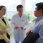 визит врачей в медицинский центр амрита