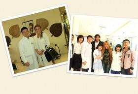 Актеры в клинике восточной медицины